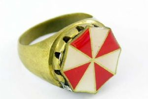 "Resident Evil ""Umbrella"" ring."